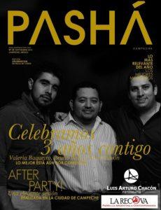 Festejo del 3er. Aniversario de la Revista Pashá Campeche