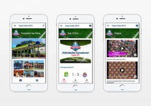 App Copa Celta 2019